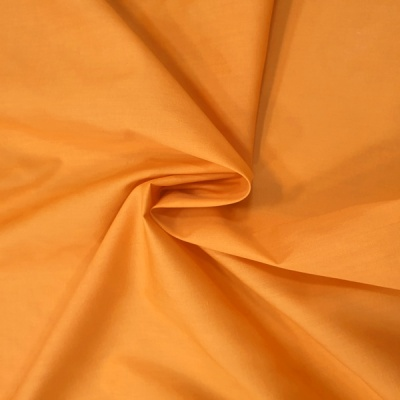 Plain Polycotton 45'' LIGHT ORANGE