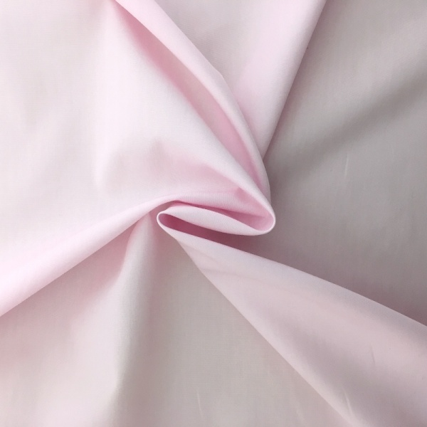 100% Cotton Poplin - LIGHT PINK