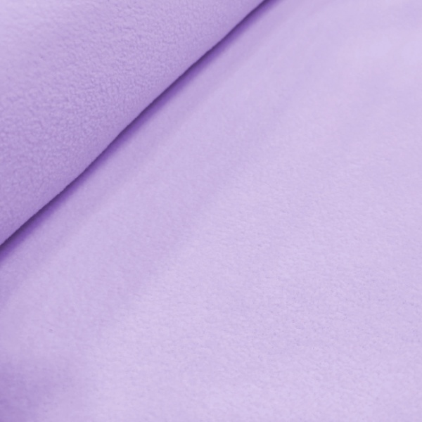 Plain Fleece Fabric  LILAC