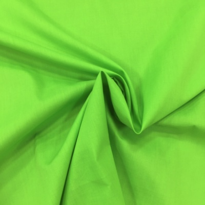 Plain Polycotton 45'' LIME GREEN