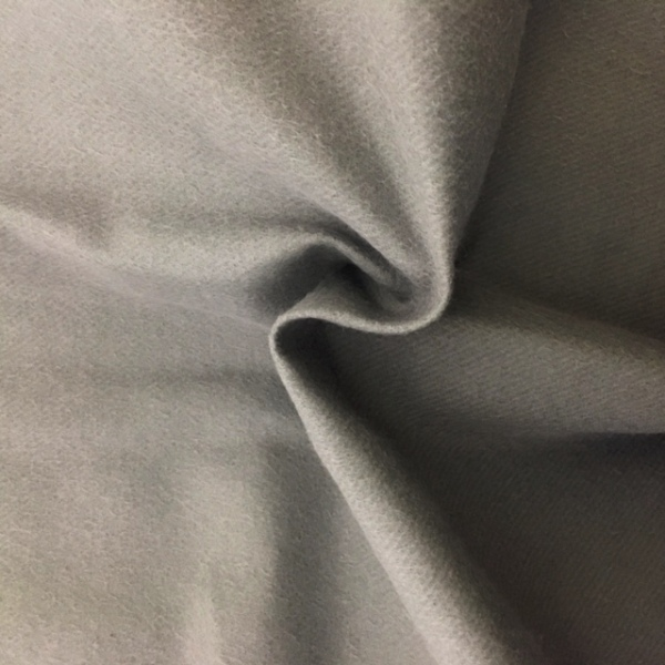 3 metre wide Molton Fabric FLAME RETARDANT MID GREY