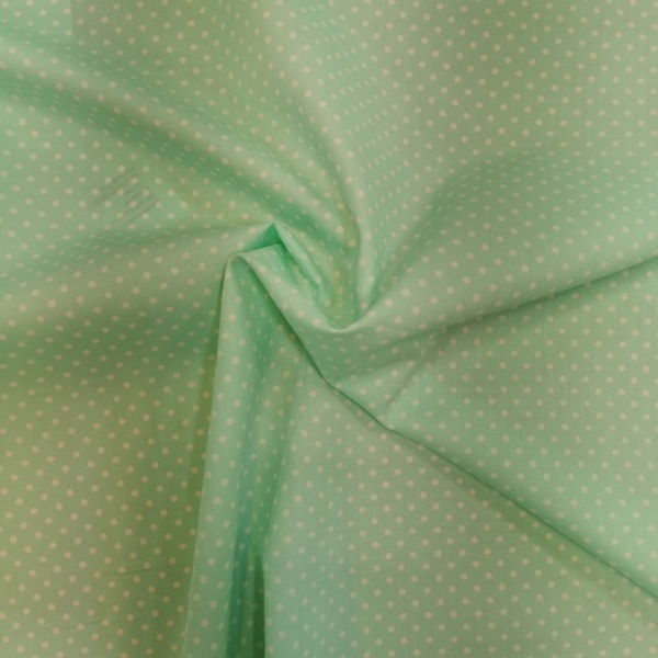 3mm Spot Cotton MINT