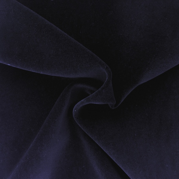 Cotton Velvet Navy