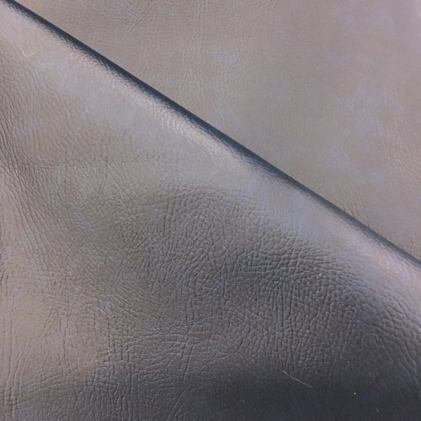 Flame Retardant Leatherette Navy