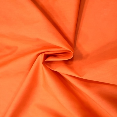 Plain Polycotton 45'' ORANGE