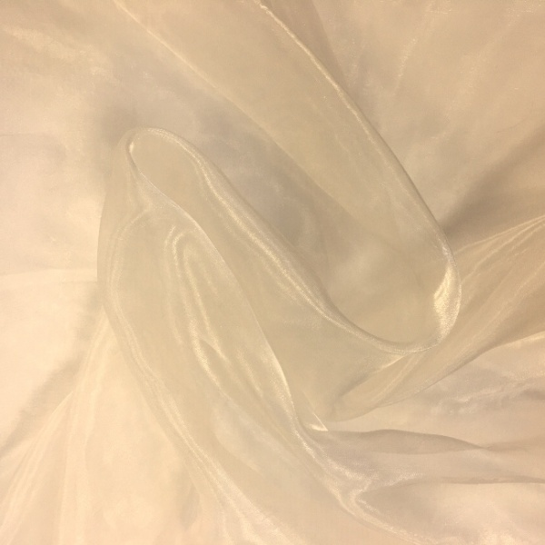 Plain Dyed Organza Oyster
