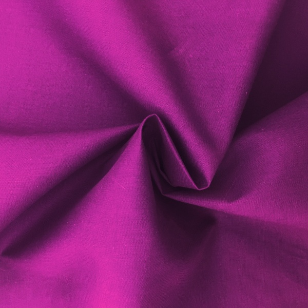 100% Cotton Fabric Plum
