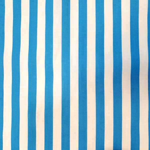 Polycotton Stripes TURQUOISE