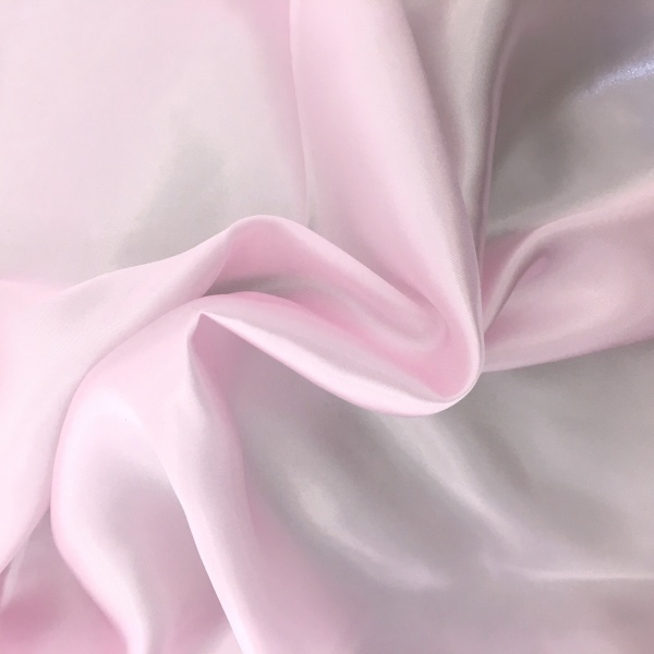 Polyester Satin - Baby Pink