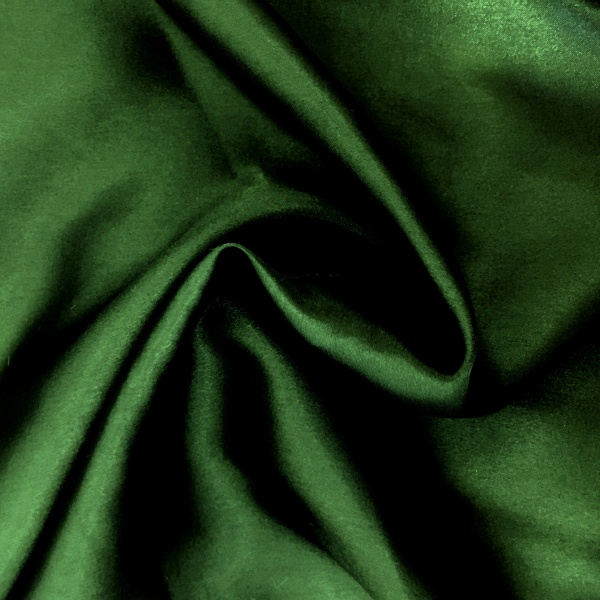 20 metres of Polyester Satin - Dark Green