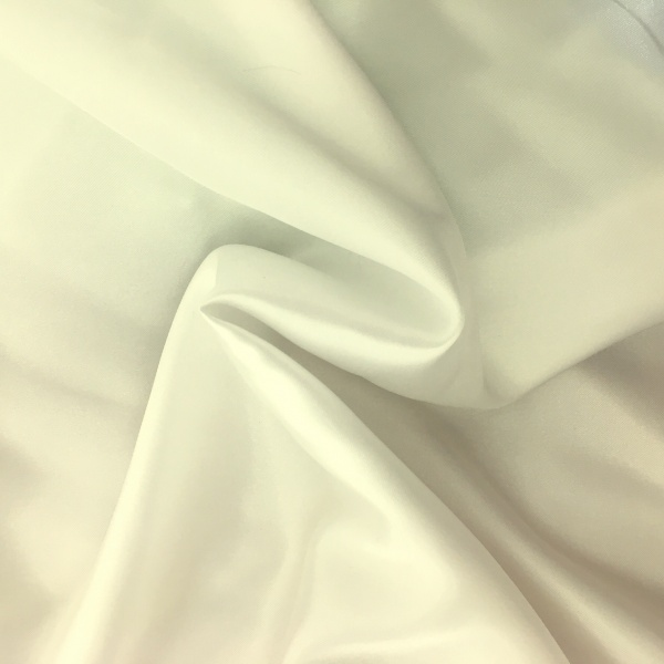 20 metres of Polyester Satin - Ivory