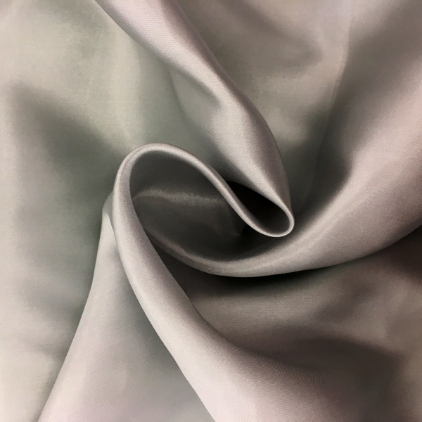 20 metres of Polyester Satin - Silver