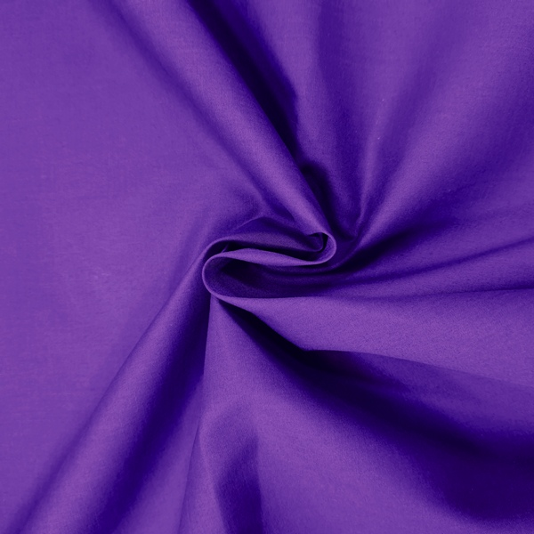 Plain Polycotton 45'' PURPLE