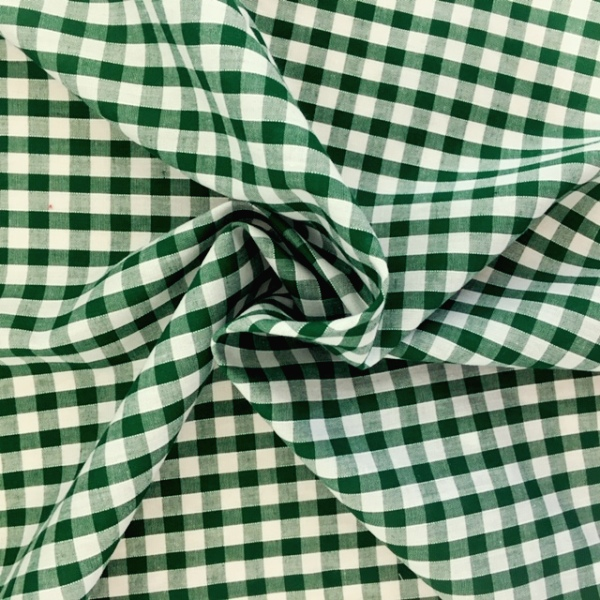 1/4'' Polycotton Gingham GREEN