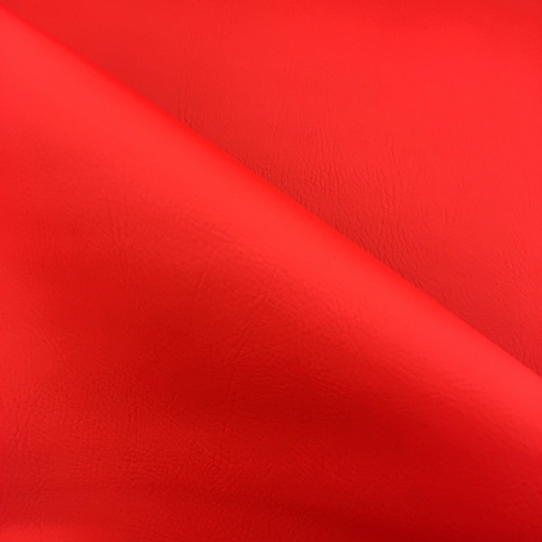 Flame Retardant Leatherette Red
