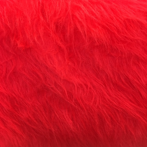 Long Hair Fur - Red