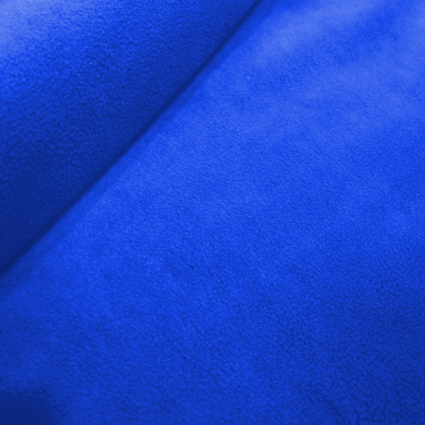 Plain Fleece Fabric  ROYAL BLUE