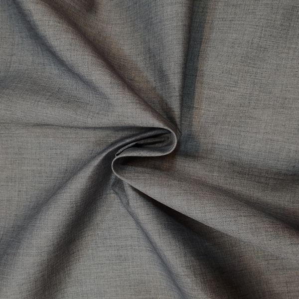 Plain Polycotton 45'' SCHOOL GREY
