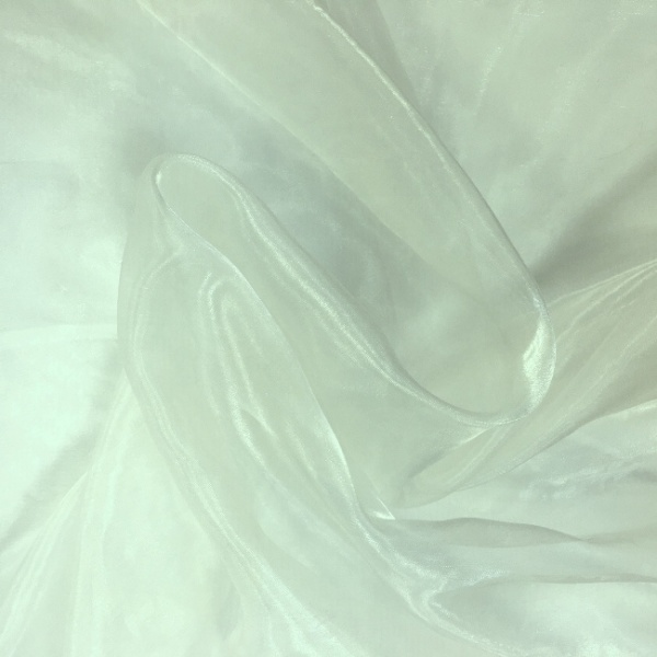Plain Dyed Organza Sky Blue