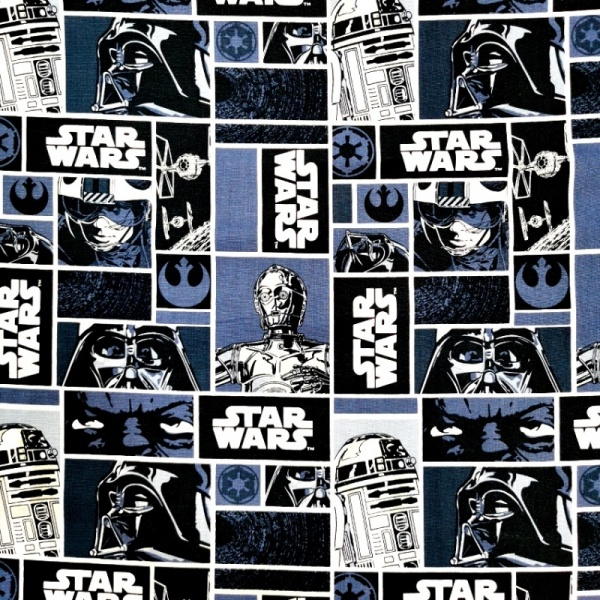 Star Wars - Classic Blocks 100% Cotton