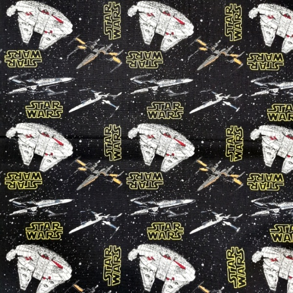 Star Wars - Rebel Ships 100% Cotton
