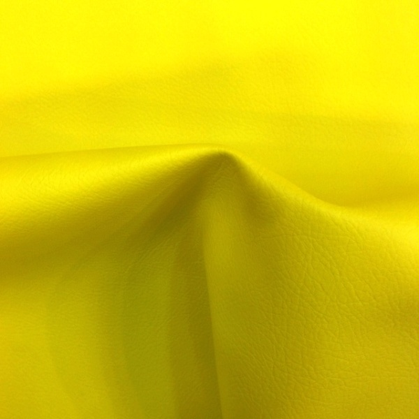Flame Retardant Leatherette YELLOW