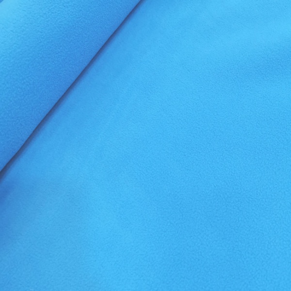 Plain Fleece Fabric  TURQUOISE