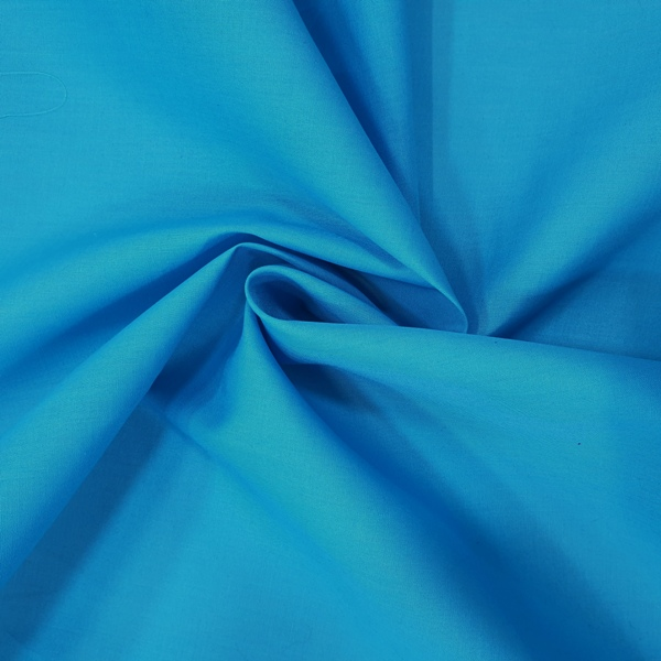 100% Cotton (44'' wide) Turquoise