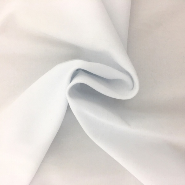 Cotton Velvet White