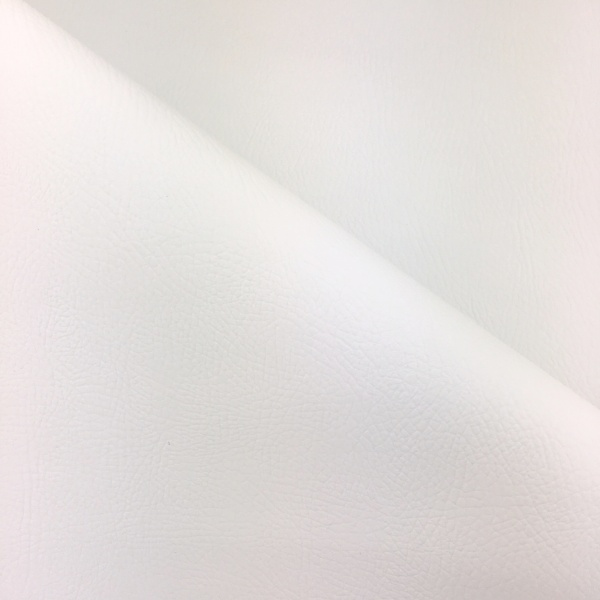 Flame Retardant Leatherette White