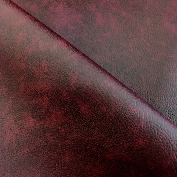 Flame Retardant Leatherette Wine