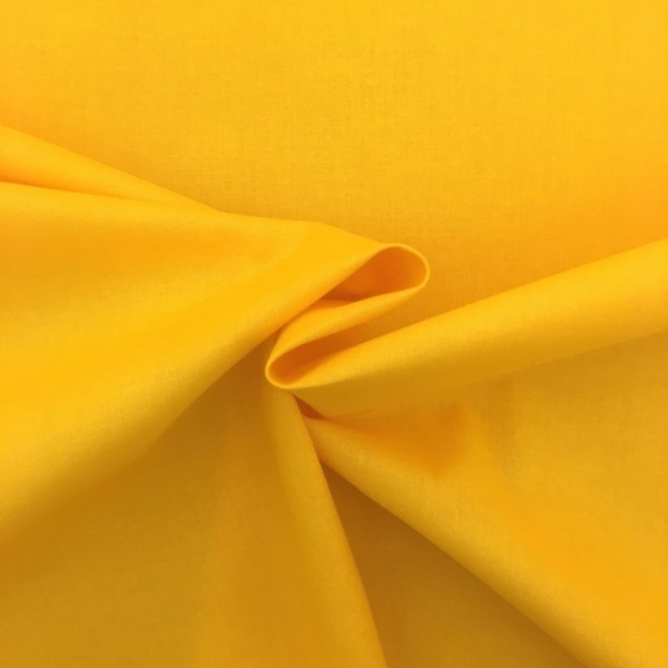 100% Cotton (44'' wide) Yellow